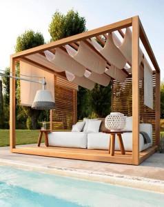zahradní nábytek - altán